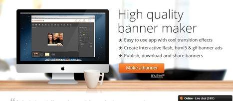 Comment créer une bannière gratuite en ligne? | Boite à outils E-marketing | Scoop.it