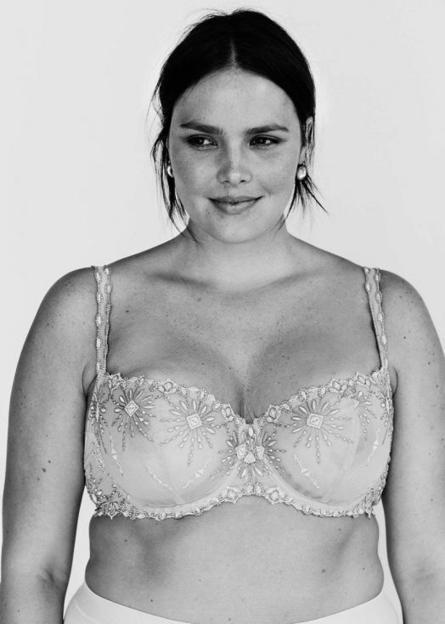 Tara Lynn et Candice Huffine pour Vogue, les mannequins plus size posent en lingerie | Plus-Size Fashion | Scoop.it