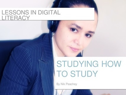Studying How to Study - Lessons in digital literacy | EduInfo | Scoop.it