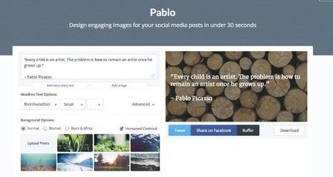 Diseña imágenes personalizadas para Facebook y Twitter | Al calor del Caribe | Scoop.it
