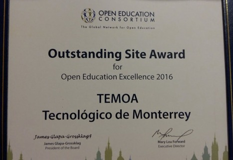 TEMOA an Outstanding Site: Open Education Awards for Excellence | OEC 2016 | Innovación, Tecnología y Educación | Scoop.it