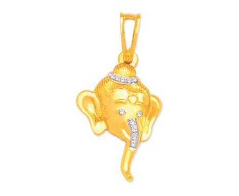 The Lord Ganesha Pendant | Latest Indian Diamond Jewellery Designs | Scoop.it