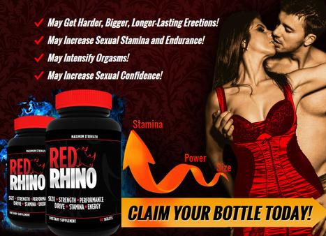 Rhino male enhancement ingredients locations