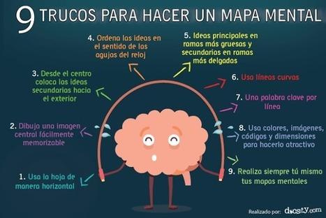 Mapas Mentales - 9 Trucos para Elaborarlas   Infografía   Estrategias de Aprendizaje   Scoop.it