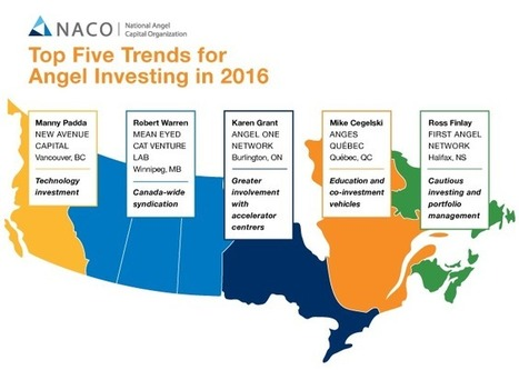 Top Five Trends for Angel Investing in 2016 - NACO Canada | More Commercial Space News | Scoop.it