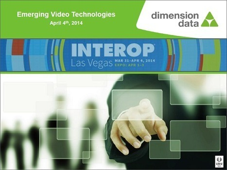 Interop Expo Las Vegas: Emerging Video Technologies (Session Overview ... - Telepresence Options | Virtual Leaders and why Executives Can't Afford to Keep Video Conferencing to Themselves | Scoop.it