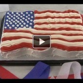Cake Recipes - American Flag Cake   After Retirement   Scoop.it