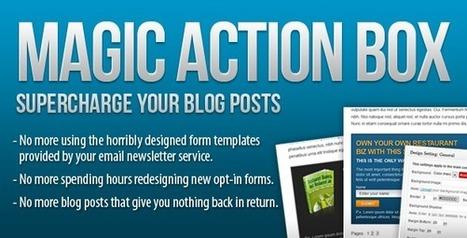 Magic Action Box, una maravilla para la captación de suscriptores | cómo crear un blog para autoemplearte o encontrar trabajo. Mini-Curso | Scoop.it
