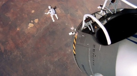 Felix Baumgartner's Disorienting and Amazing Fall From Space | PhysicsLearn | Scoop.it