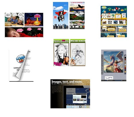 7 Great iPad Apps for Creating Comic Strips ~ E... | Each One Teach One, Each One Reach One | Scoop.it