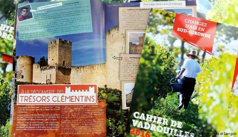 Cahier de Vadrouilles 2016, un outil pratique et ludique pour ne rien manquer des trésors du Sud-Gironde | Actu Réseau MOPA | Scoop.it