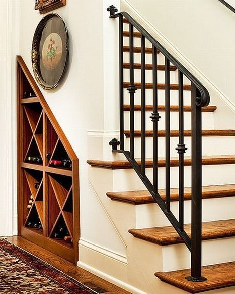 40 under stairs storage space and shelf ideas to maximize your interiors in style | Designing Interiors | Scoop.it