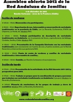 Asamblea abierta de la Red Andaluza de Semillas 2012 (06dic2012) | Stop Monsanto | Scoop.it