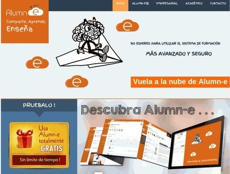 Alumn-e, para crear cursos online en español | mi primer Topic | Scoop.it