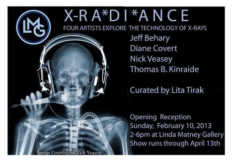 Our opening reception will be Sunday, February 10th from 2pm-6pm. Jeff Behary an... | X-RADIANCE exhibition at Linda Matney Gallery curated by Lita Tirak | Scoop.it