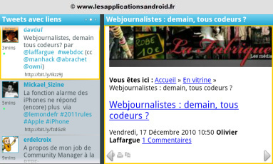 Androbattle : la meilleure application Android pour Twitter | Application Android | Scoop.it