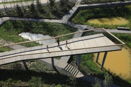 Protecting Ecosystems + Providing for A New Urban Community: Qunli Stormwater Wetland Park | green streets | Scoop.it