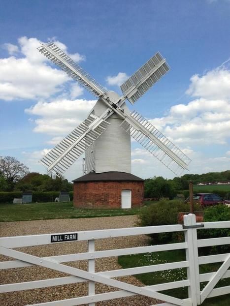 Twitter / WindmillTravels: The beautiful post mill at ...   Milling   Scoop.it