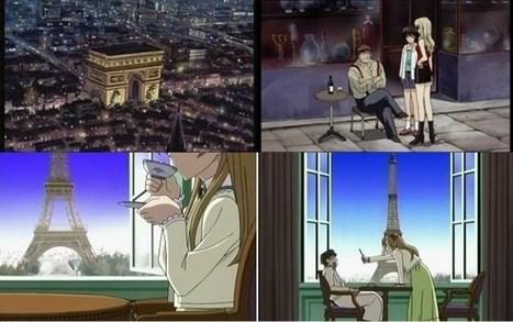 La représentation de la France dans les anime et les mangas | Toile de nuage | Scoop.it