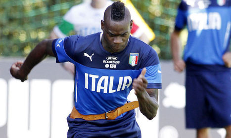 1x2 Free Betting Tips !: Mario Balotelli was racially abused by Italian fans during Azzurri training on Tuesday | SharedPlus | Scoop.it