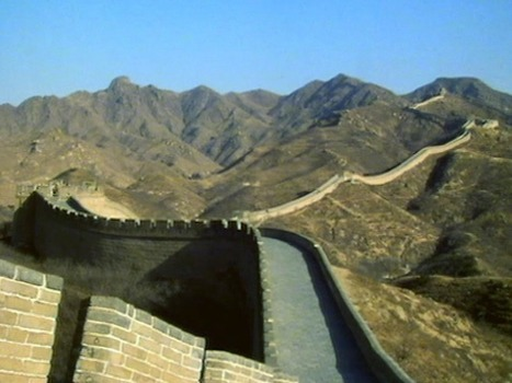 Great Wall of China: fortress seen from moon | Year 1 Geography: Places - China | Scoop.it