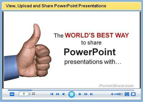 PowerShow | Digital Presentations in Education | Scoop.it