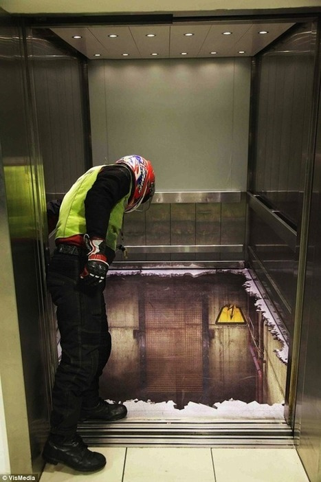 Elevator Illusion Shocks Unsuspecting London Shoppers | D_sign | Scoop.it