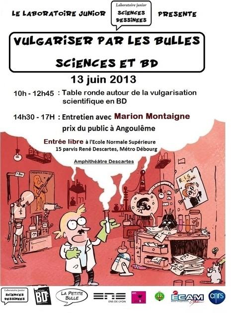Vulgariser par les bulles - Sciences et BD | Institut Pasteur de Tunis-معهد باستور تونس | Scoop.it
