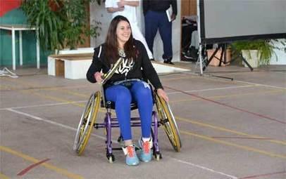 M. Bartoli, marraine de la 1ère académie de tennis fauteuil | Sport et handicap | Scoop.it