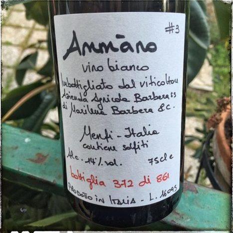 Ammàno #3 (2015) di Marilena Barbera - Into the Wine   Into the Wine   Scoop.it