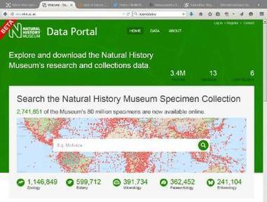 NaturePlus: Science News: NHM Data Portal: a commitment to Open Science | Open Science and Technology Resources | Scoop.it