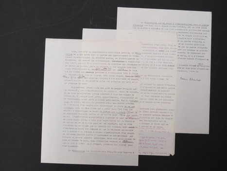 Maurice Blanchot papers acquired by Harvard | Arobase - Le Système Ecriture | Scoop.it