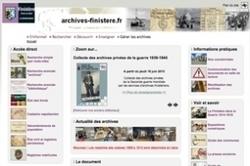 Finistère : les registres matricules de 1909 à 1913 sont là ! | Rhit Genealogie | Scoop.it