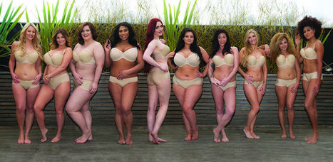 Quand une marque de lingerie grande taille recrée la campagne pub de Victoria Secret I@Piwee   Citizen Com   Scoop.it