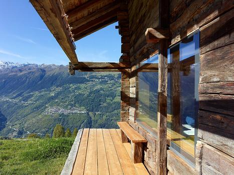 » Maison de bois en Suisse<== | Ageka les matériaux pour la construction bois. | Scoop.it