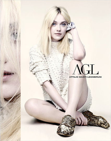Dakota Fanning for Attilio Giusti Leombruni S/S2014 | Brand Management | Scoop.it