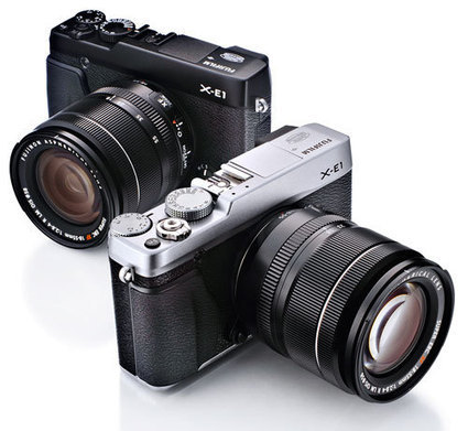 Fujifilm X-E1 Compact System Camera - Hands-On Preview | Fuji X Series | Scoop.it