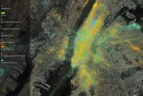 Time-Lapse Visualization Reveals The Ebb And Flow Of NYC Travel [Video] - PSFK   desktop liberation   Scoop.it