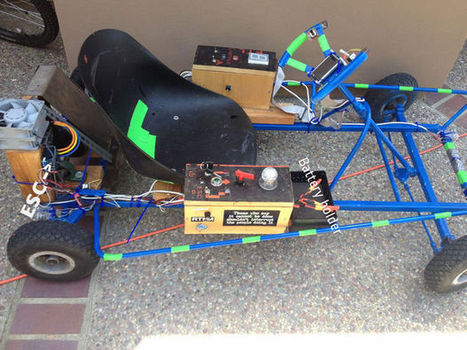 Electric Go-Cart Has Arduino Brains | Makers and Future Electronics | Scoop.it