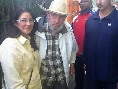 Twitter / NicolasMaduro : Fidel nos llevó a recorrer ... | Global politics | Scoop.it