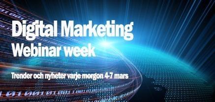 Digital Marketing Webinar Week | #Marknadsföring | Scoop.it