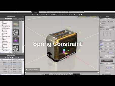 iClone5 Tutorial – Constraint Types Part 1 « Safegaard – Movie Theater | Machinimania | Scoop.it