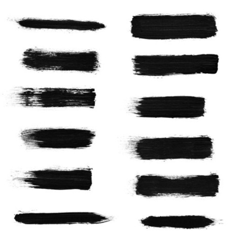 Download Free High Res Dry Brush Stroke Photoshop Brushes | The Official Photoshop Roadmap JournalP | Scoop.it