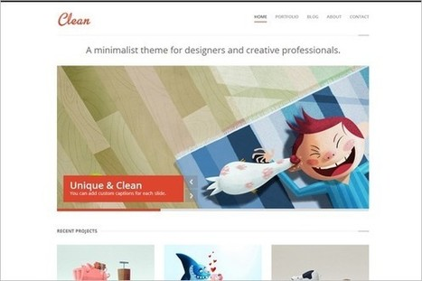 30 Creative Portfolio WordPress Themes | WP Daily Themes | Free & Premium WordPress Themes | Scoop.it