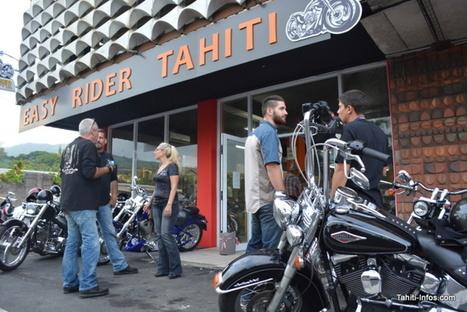 Inauguration de la première concession Harley-Davidson de Polynésie   On the road again...   Scoop.it