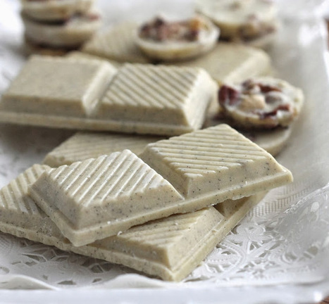 #HealthyRecipe / Homemade White Chocolate | Hospitality | Scoop.it