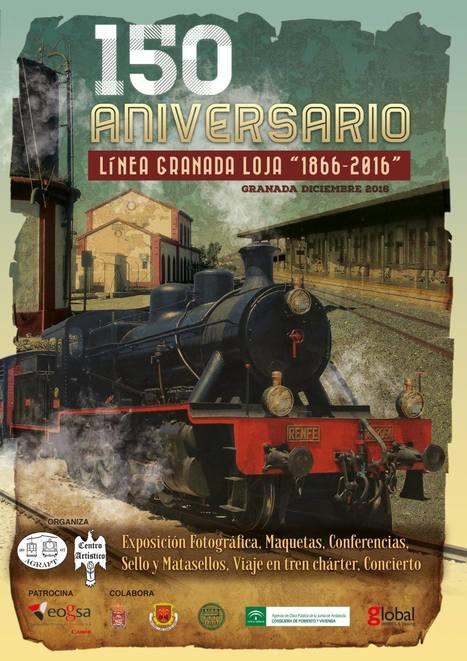 Actos por los 150 años del tren en Granada | EnTRENtenimiento | Scoop.it