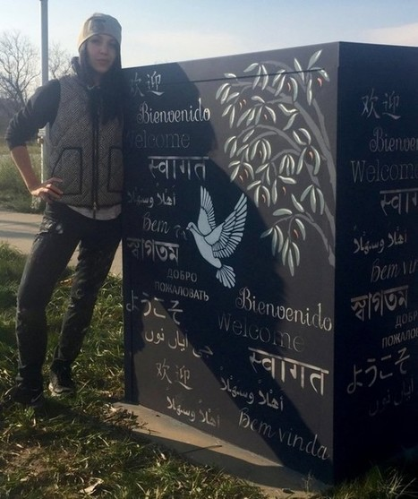 New painting welcomes visitors to Ann Arbor in 10 different languages | Warren55 | Scoop.it