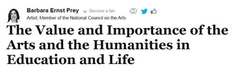 The Value and Importance of the Arts and the Humanities in Education and Life | The Humanitarian | Scoop.it