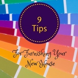 9 Tips for Furnishing your New House - Design Furnishings   Outdoor Furnishings   Scoop.it